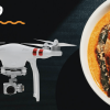Food Packet Delivery with Drones by Zomato India