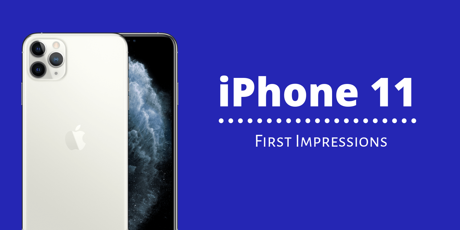 Apple iPhone 11, Does it have anything new?