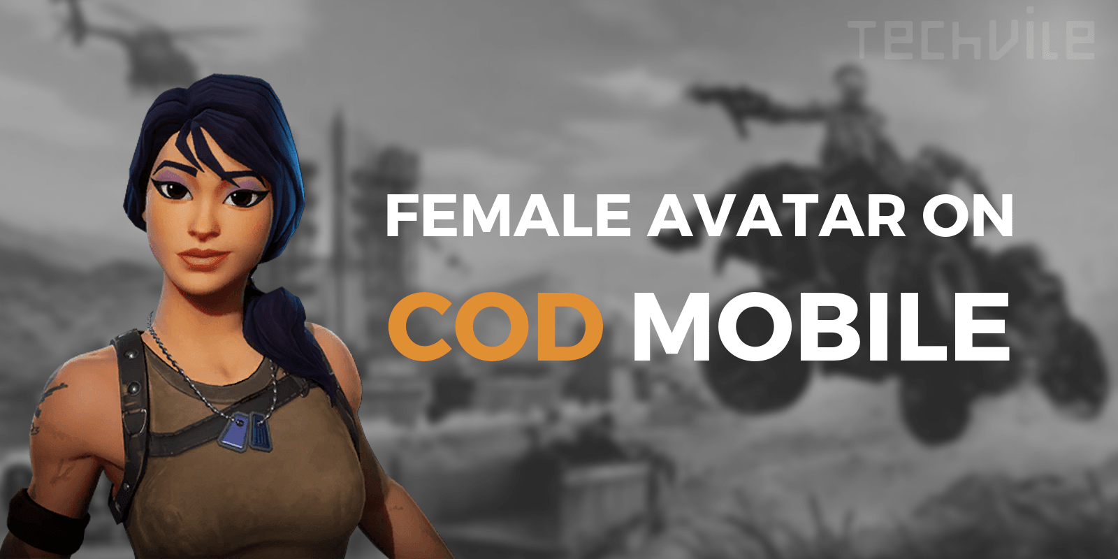 Get Your Female Avatar Character In Call Of Duty Mobile Techvile