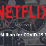 Netflix offers $100 Million for Corona Relief