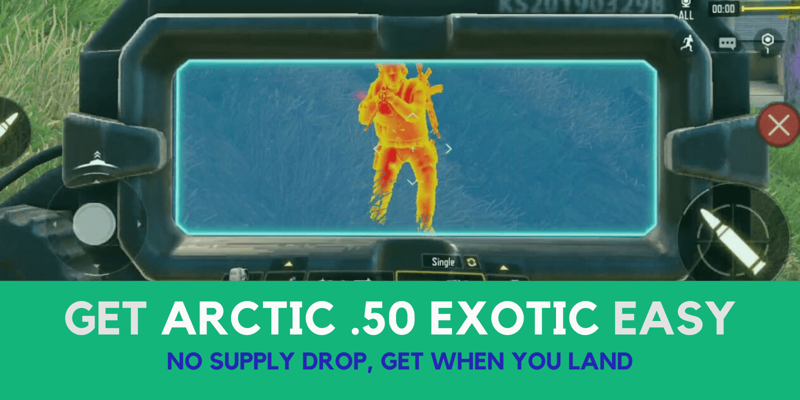 Get the Arctic .50 (Exotic) Easy and Every time (Not Supply Drop)