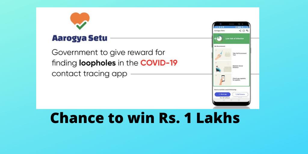 Aarogya Setu App Code is now Open Sourced, Bug Bounty Programme Announced